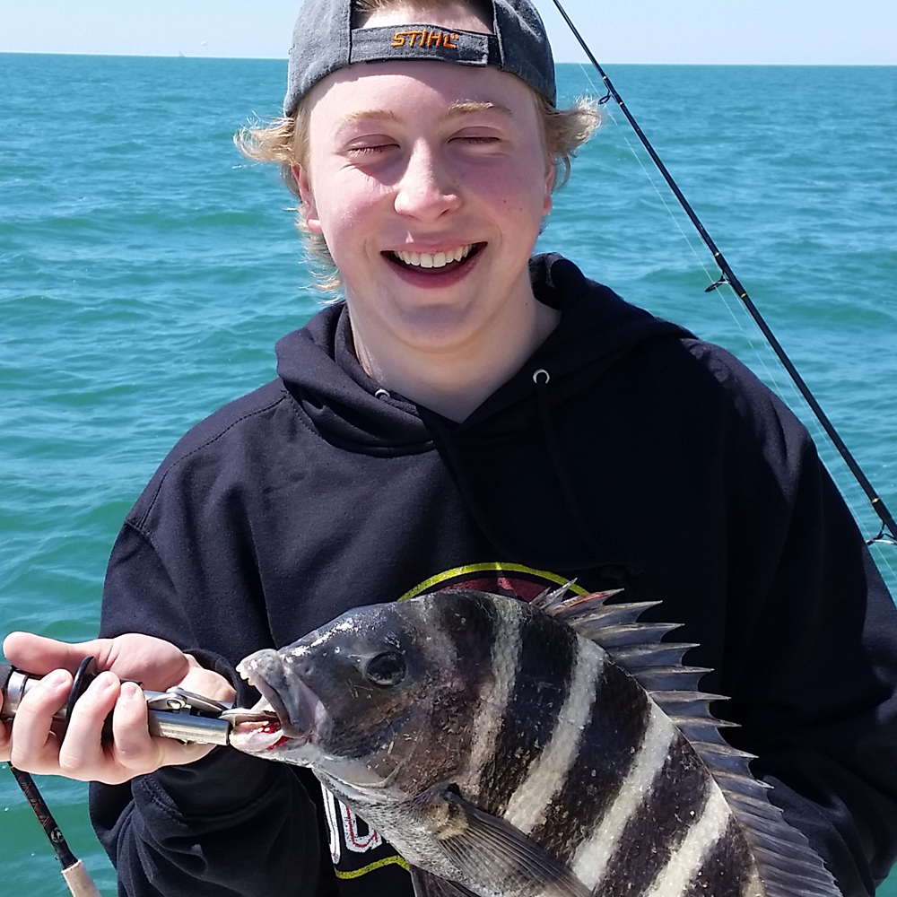 sheepshead these kinds of fishing report